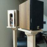 自作スピーカースタンド<br> ー Dali Pico -<br> 作成過程はギャラリーにあります