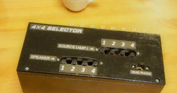 4×4 Speaker Selector
